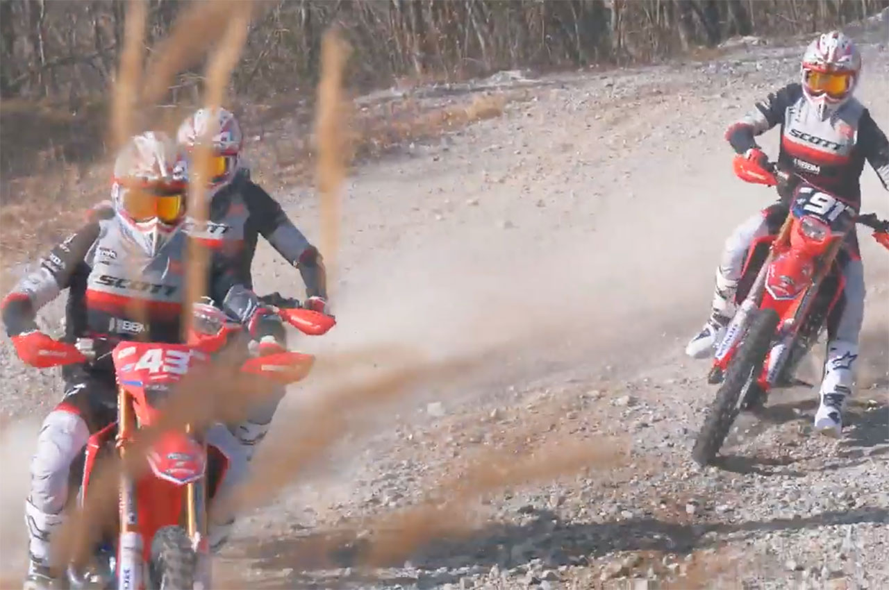 2020 Honda Redmoto Racing World Enduro Team