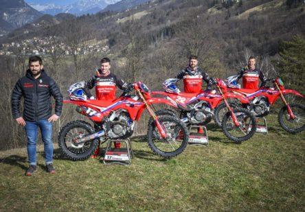 Presentazione Team Honda RedMoto Racing World Enduro Team